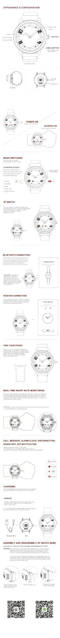 Lenovo Watch X Plus Smart Watch English Manual An Ephemeral